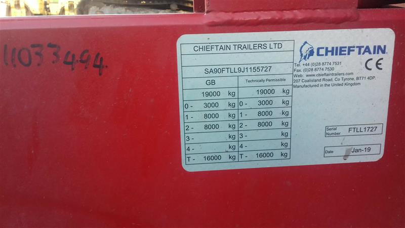 Chieftain Twin Axle Fast Tow